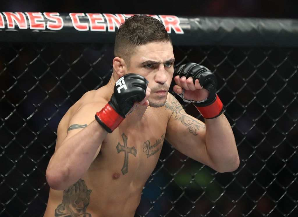 Diego Sanchez in his Welterweight bout against Frank Camacho during UFC 228 at American Airlines Center