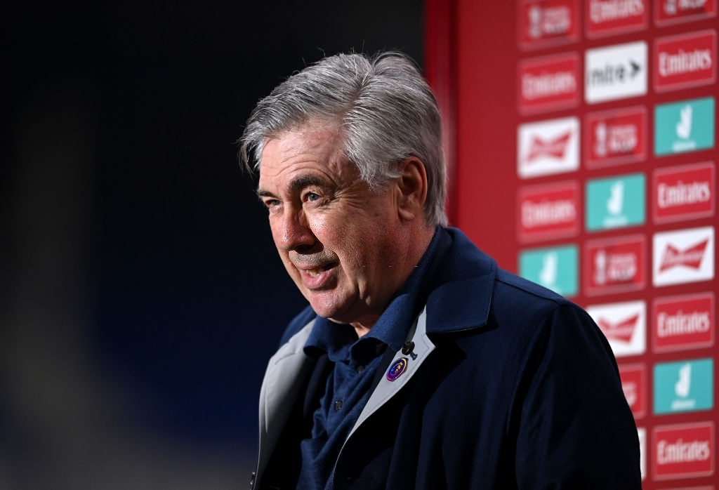Everton manager Carlo Ancelotti updated regarding the return of players like Jean-Phillipe Gbamin and James Rodriguez in the match against Crystal Palace on Manday.