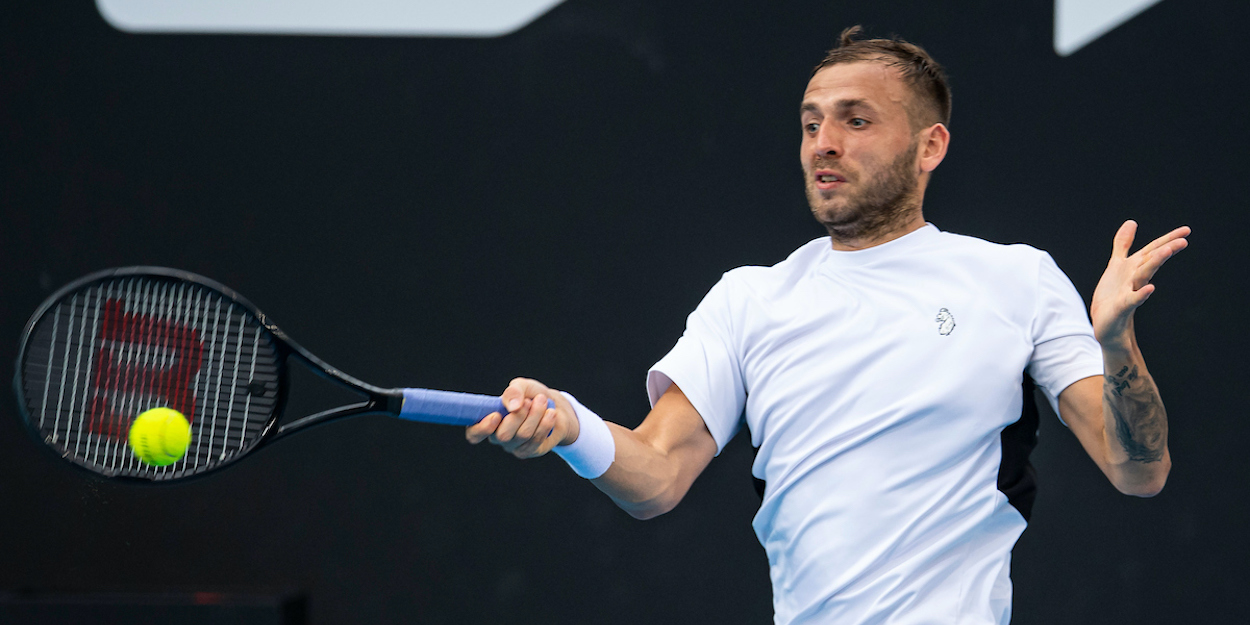 Dan evans has proved his mettle on clay court by beating Novak Djokovic
