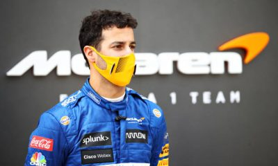 Daniel Ricciardo of McLaren F1 might appear in this year's IndyCar or Supercar.