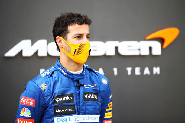 The new McLaren driver finished at P7 after getting some damage to his the MCL35M from Alpha Tauri's Pierre Gasly at the 2021 Bahrain Grand Prix.