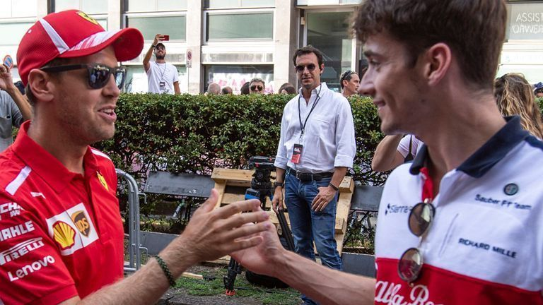Leclerc confirms that the talent and skillset possessed by Sebastian Vettel is unmatched