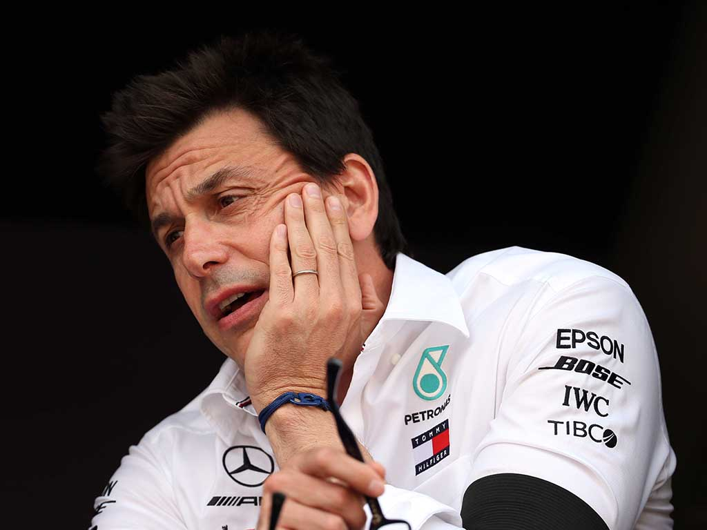 Mercedes CEO Toto Wolff expressed his willingness to part ways from the Mercedes F1 team on his role of team principal