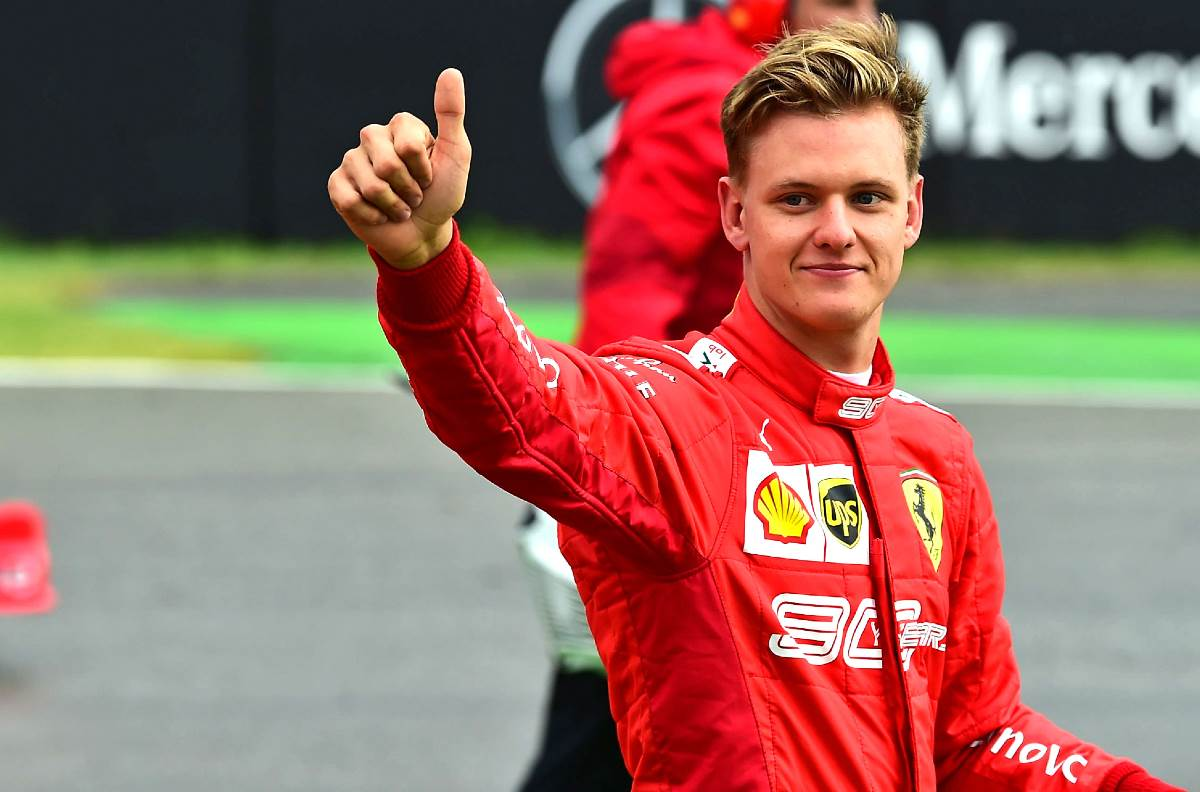 Mick Schumacher improved by just one spot on his performance at Bahrain during the Imola grand prix