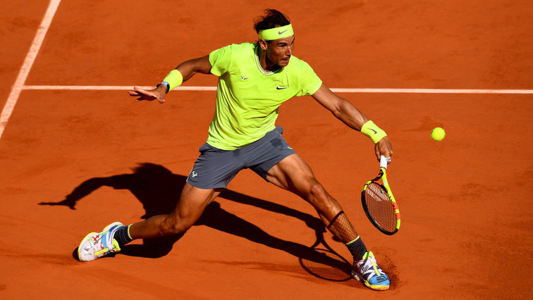 Rafael Nadal showcases his skills and moves during a video posted on Instagram ahead of the Monte Carlo Tournament at Monaco