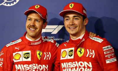 Sebastian Vettel stands as an idol for Ferrari driver Charles Leclerc. Still, the latter is adamant on keeping the rivalry intact on the grid