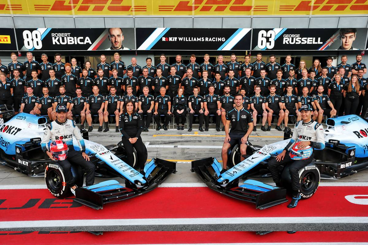 Team Williams took a big hit due to the absence of a technical director