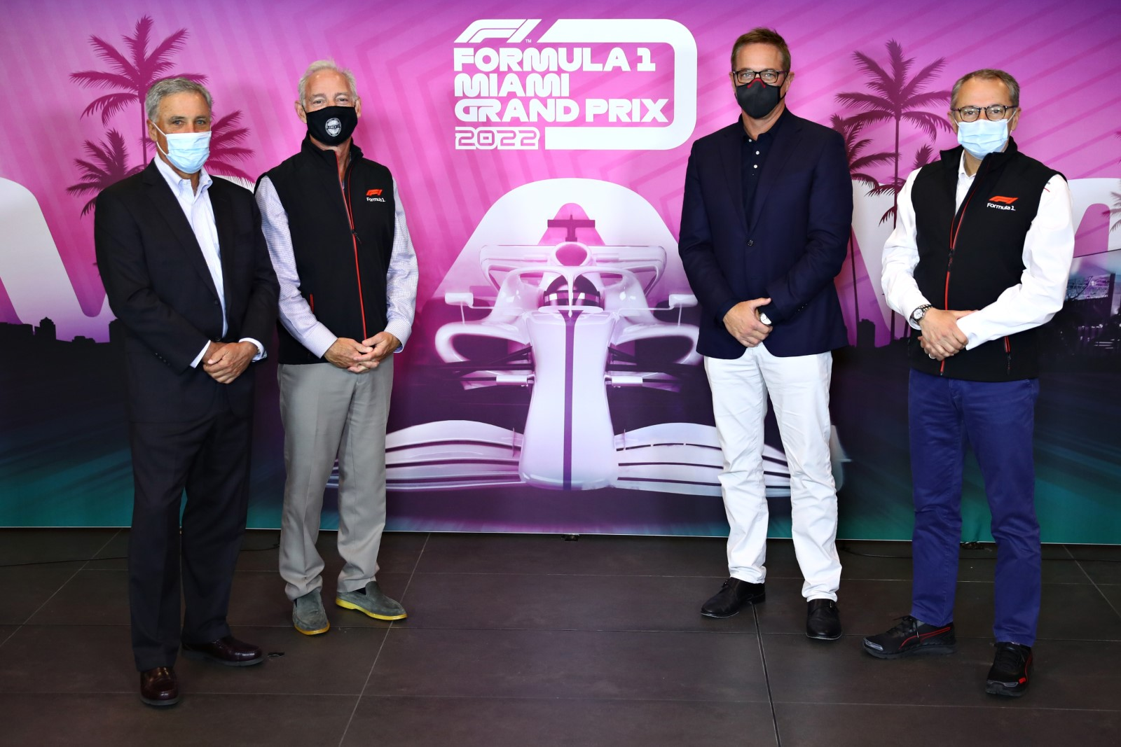 Tom Garfinkel further says that the Miami GP 2022 event will require a lot of hardwork and planning