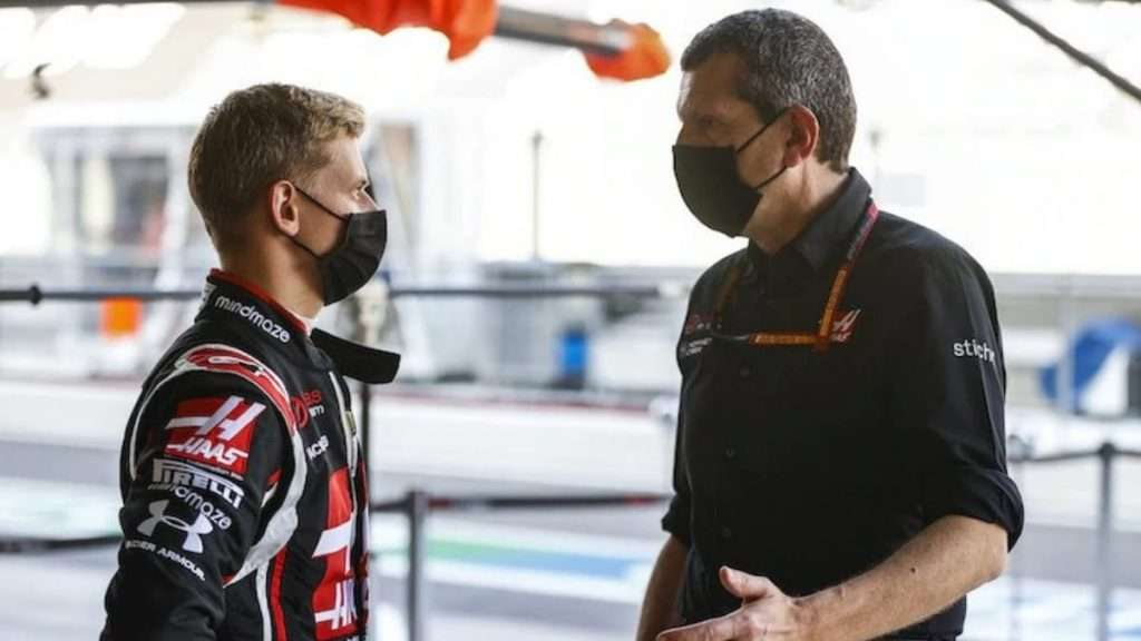 Mick Schumacher of Haas F1 Team and his work ethics impresses his team principal Guenther Steiner.