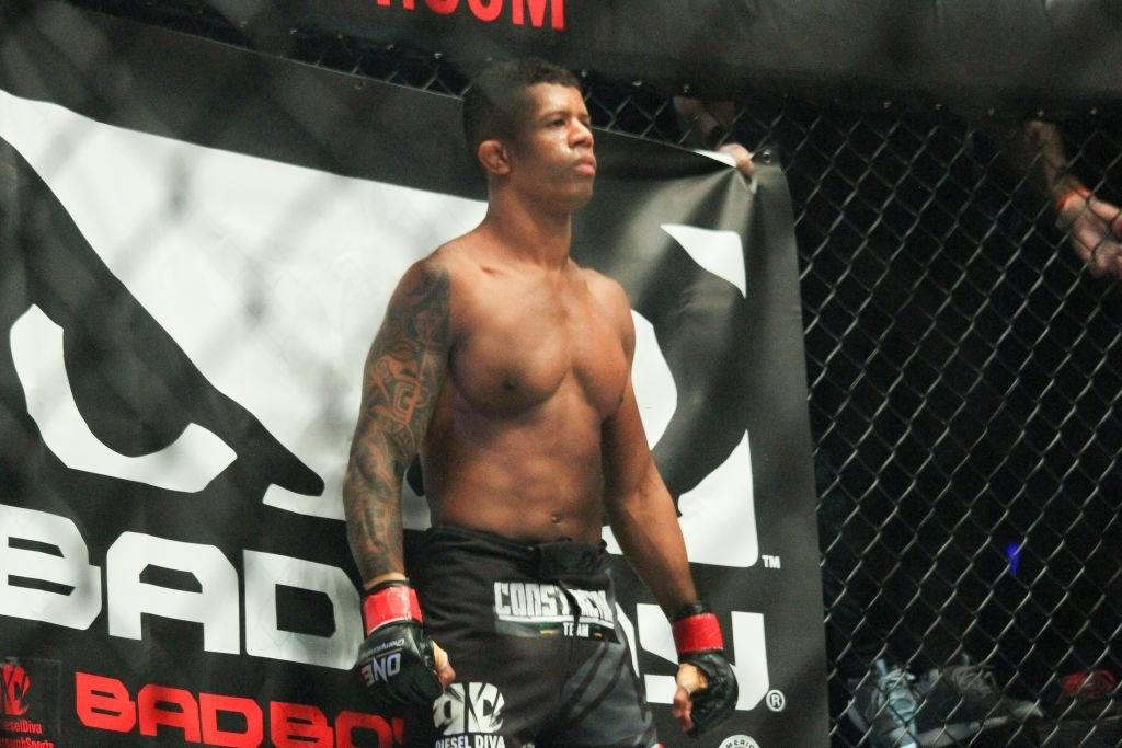 Adriano Moraes poses during the ONE legends of the world.