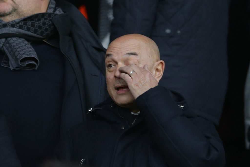 Daniel Levy Feeling high pressure due to Tottenham's search for a new manager