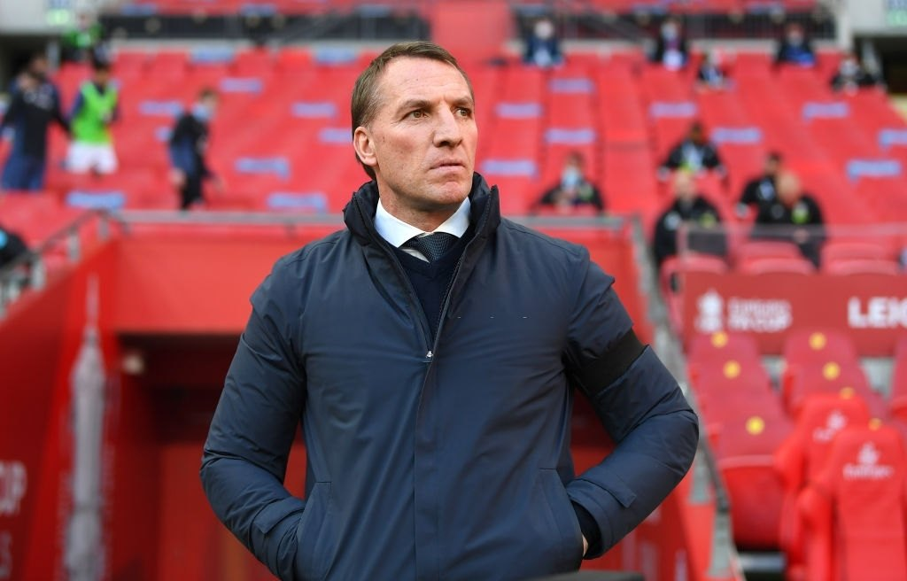 Daniel Levy wants to recruit Brendan Rodgers for Tottenham in order to create a similar impact for Spurs as he has done with Leicester City (Photo by Michael Regan - The FA/The FA via Getty Images)
