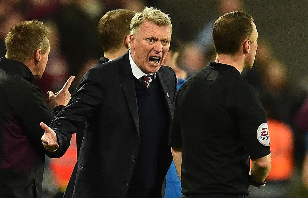 David Moyes Heated on Balbuena's Red card Against Chelsea , Slams VAR System Calling it 'Rubbish Decision'
