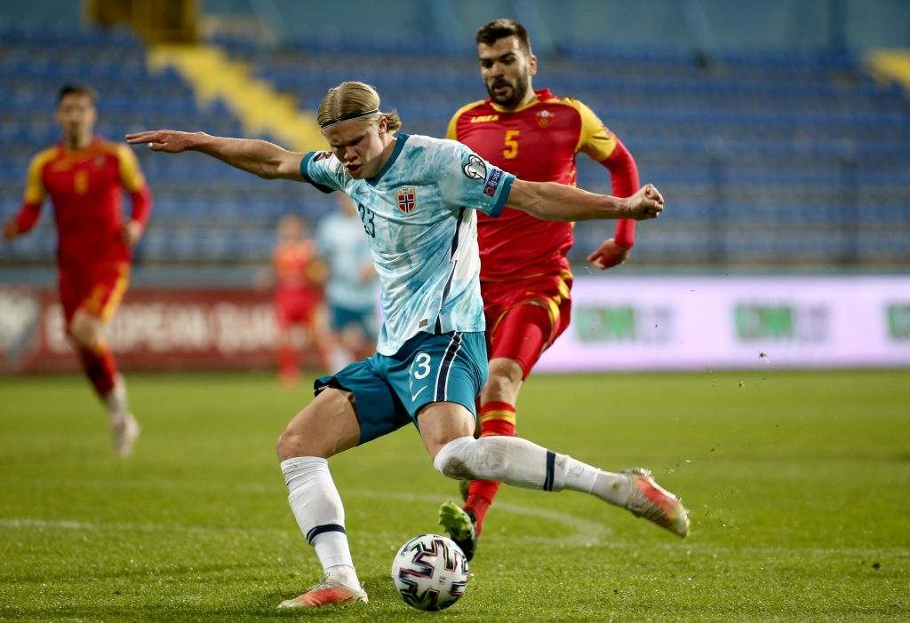 Erling Haaland of Norway (Photo by Filip Filipovic/Getty Images)
