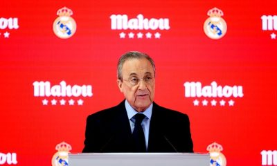 President of Real Madrid Florentino Perez (Photo by Samuel de Roman/Getty Images)