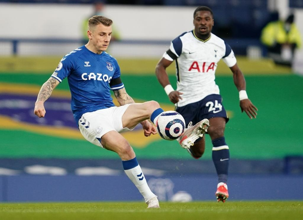 Everton Defender Lucas Digne Counts the Game Against Tottenham as One of the Best Performance at Home