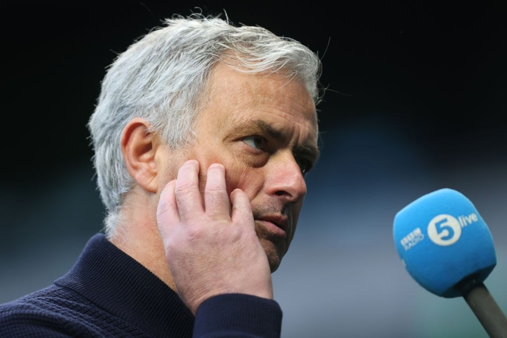 Jose Mourinho, Manager of Tottenham Hotspur (Photo by Marc Atkins/Getty Images)