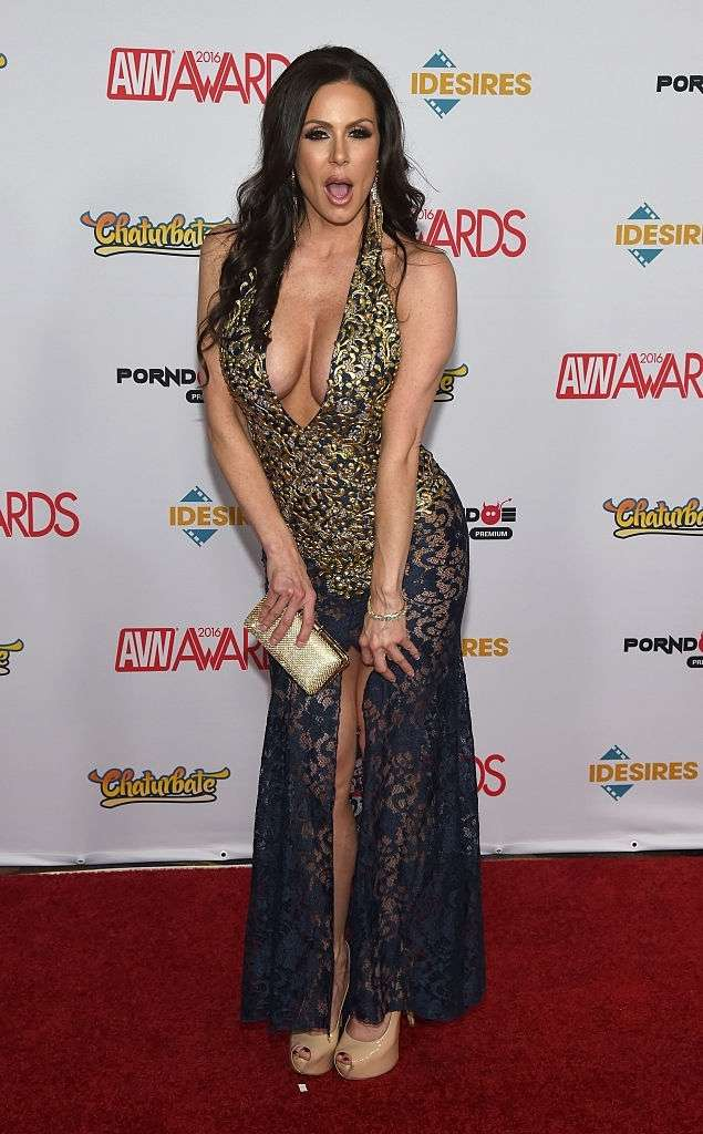 Kendra Lust attends the 2016 Adult Video News Awards.