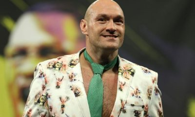 The challenge of Tyson Fury may not be taken up by Mcintyre because of the injury that he sustained at Wrestlemania 37 (Photo by Bradley Collyer/PA Images via Getty Images)