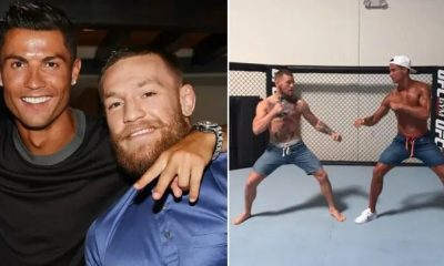 Conor McGregor and Cristian Ronaldo