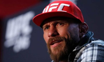 Welterweight fighter Donald Cerrone responds to a question during the UFC 246 Ultimate Media Day on January 16, 2020 in Las Vegas, Nevada. Cerrone will fight Conor McGregor at UFC 246 on January 18 in Las Vegas.
