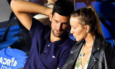 Jelena Djokovic shares her husband, Novak Djokovic's schedule when he's off court.