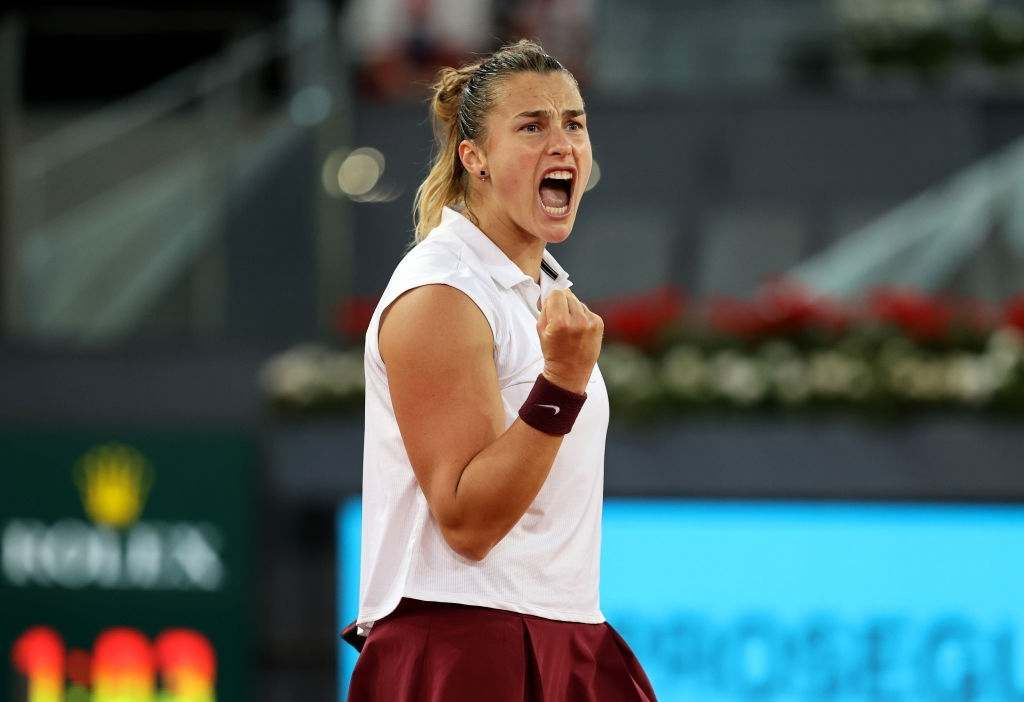 Aryna Sabalenka of Belarus overcame her fear of clay court after winning the 2021 Madrid Open.