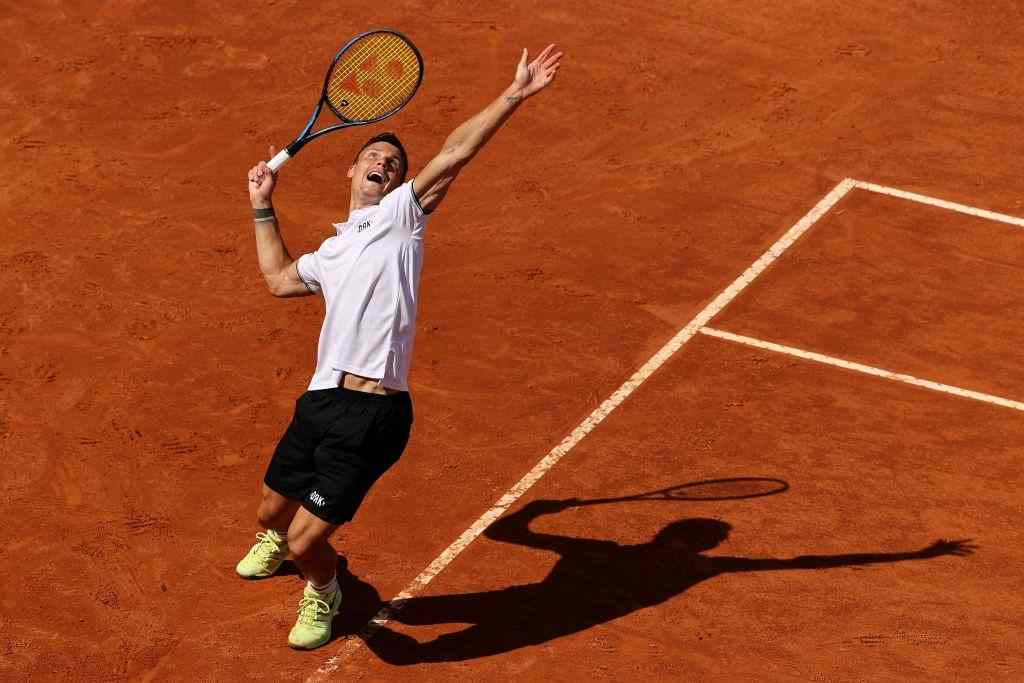 Dominic Thiem had a tough time against Marc Fucsovics in the R32 of the 2021 Italian Open.