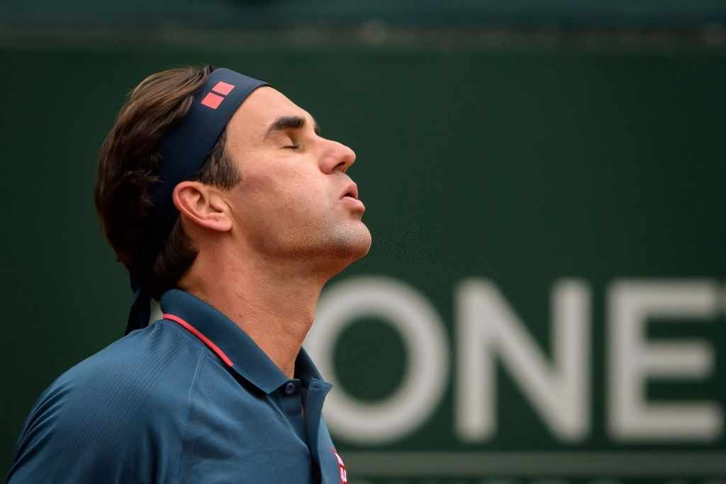 Roger Federer lost to Pablo Andujar at the 2021 Geneva Open.