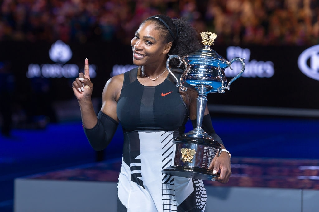 Serena Williams. (Photo by Paul Popper/Popperfoto via Getty Images)