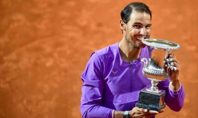 Rafael Nadal, Italian Open 2021. (Photo by Clive Brunskill/Getty Images)