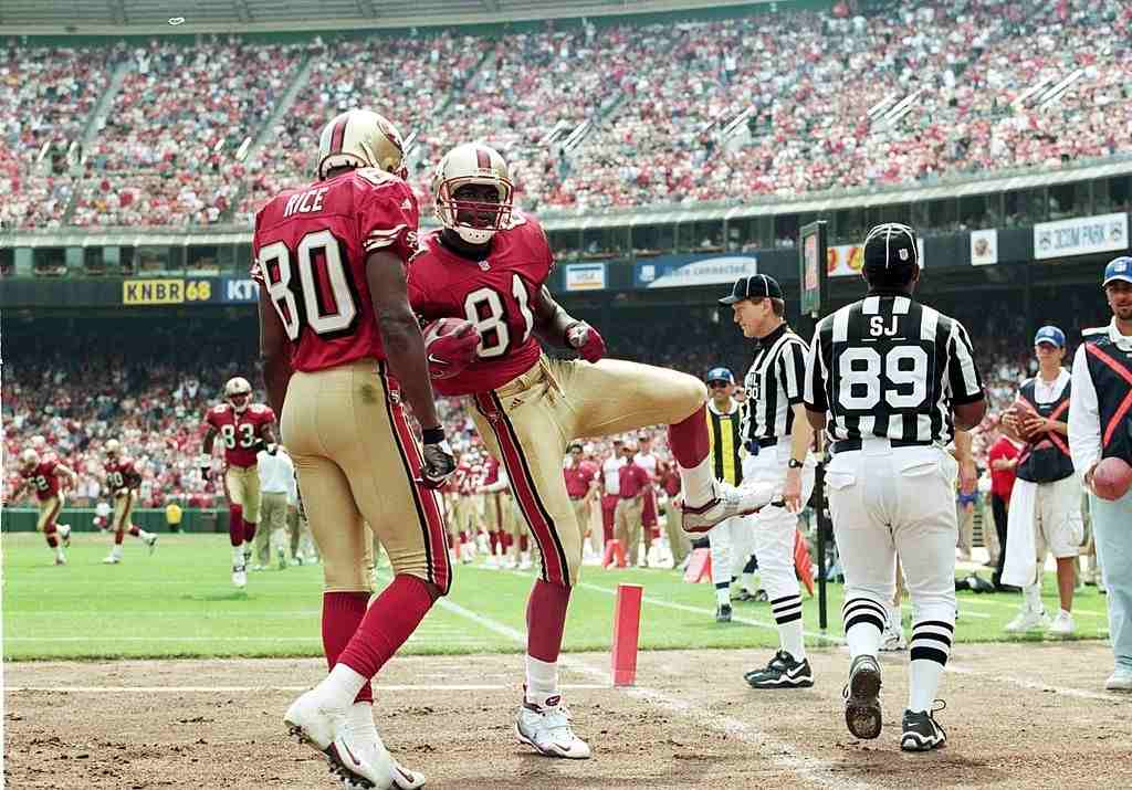 Jerry Rice and Terrell Owens