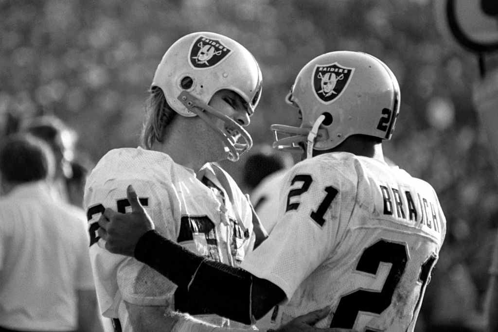 Fred Biletnikoff and Cliff Branch