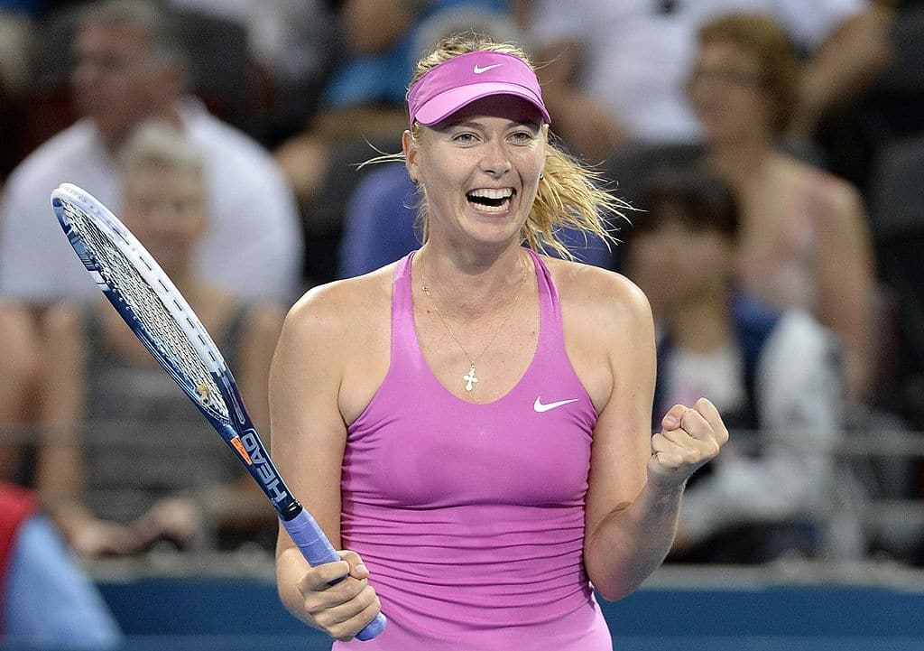 Maria Sharapova the most hottest tennis players