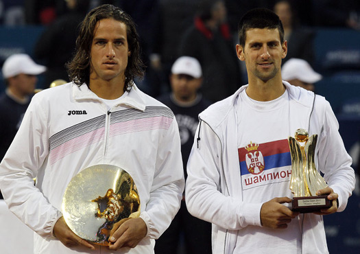 Novak Djokovic lifted the Serbia Open title in 2009 and 2011.