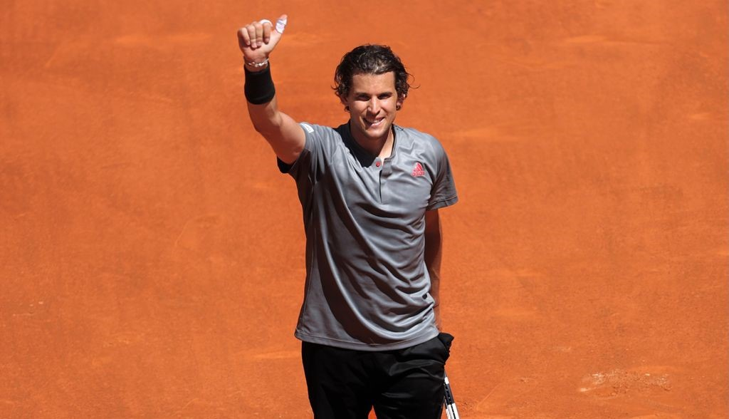 Dominic Thiem overcame the big-hitter John Isner to reach the semi-finals of the 2021 Madrid Open.