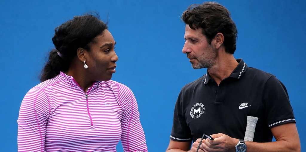 Patrick Mouratoglou coaches the former World Number One, Serena Williams.