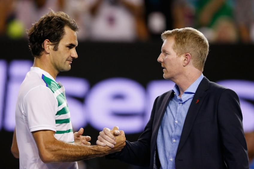 Jim Courier believes this might be the last year for Roger Federer in tennis.