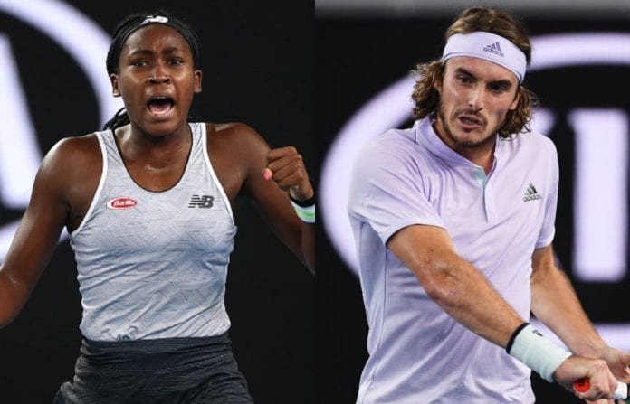 Stefanos Tsitsipas and Coco Gauff will dominate the courts in the future.