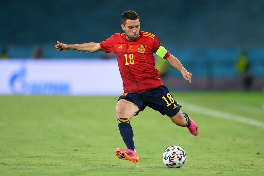 Jordi Alba is a player to watch in Euro 2020 Slovakia vs Spain