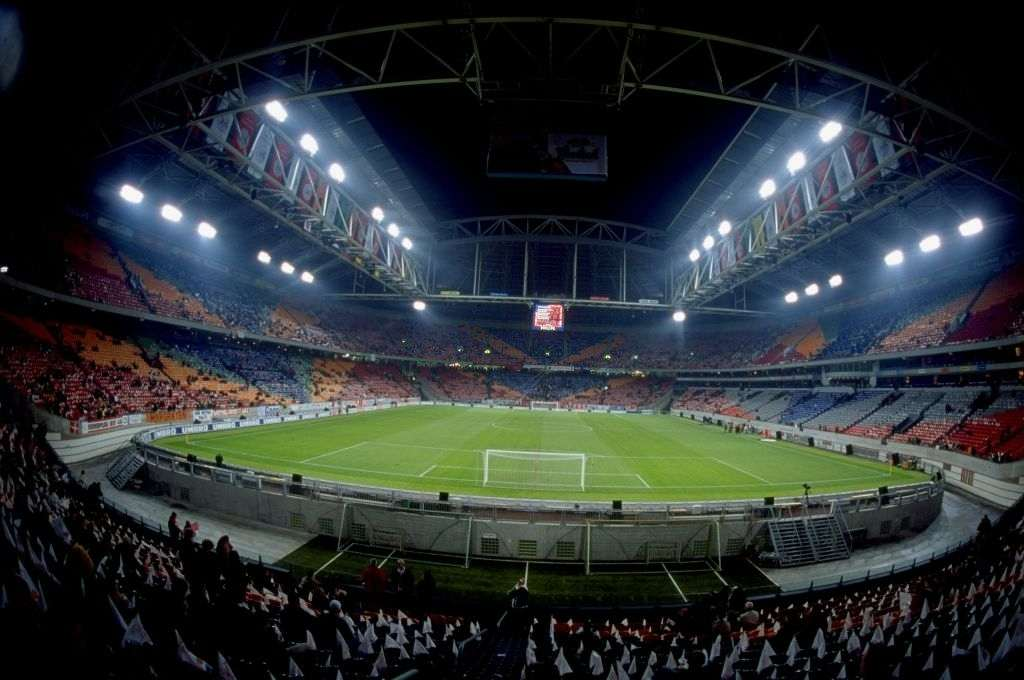 General view of the Amsterdam ArenA in Holland. One of the venues for Euro 2000. \ Mandatory Credit: Dave Rogers /Allsport