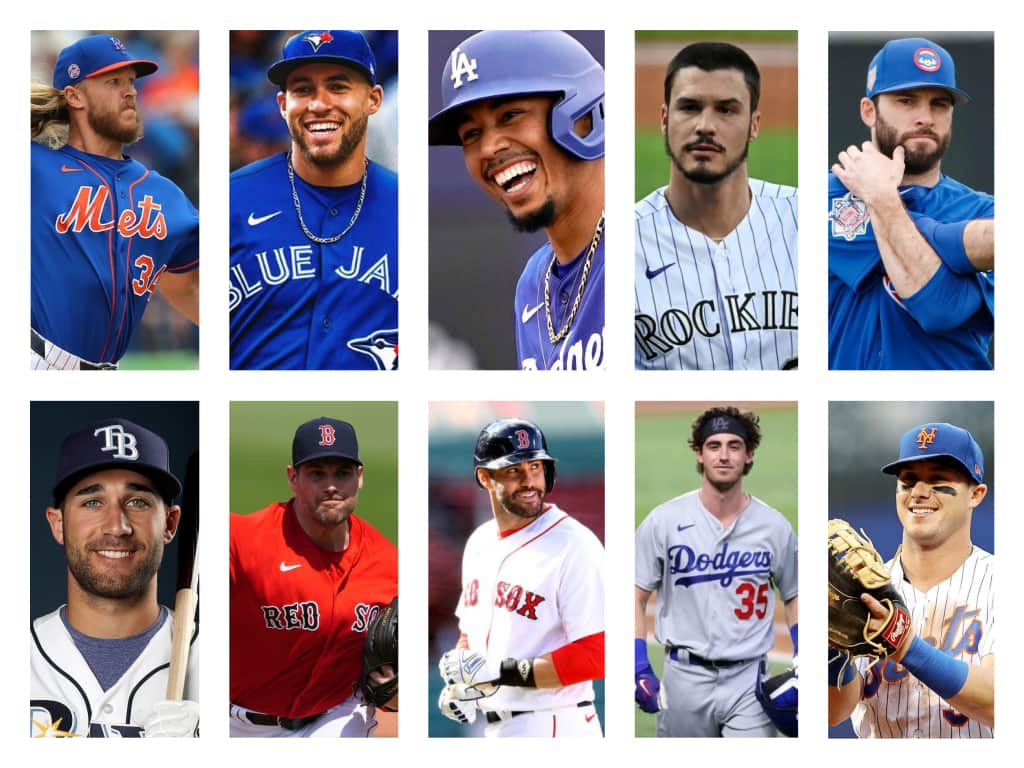 10 Hottest MLB Players