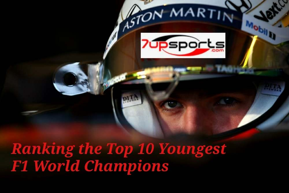 Youngest F1 Champions