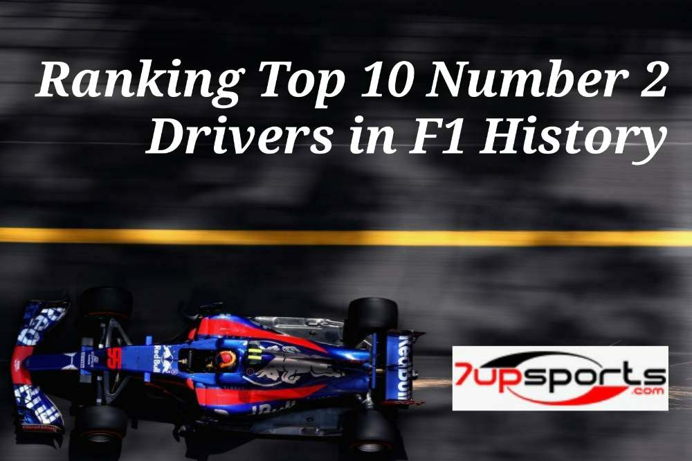 Number 2 F1 Drivers