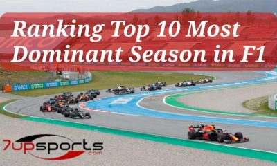 Most Dominant Seasons in F1