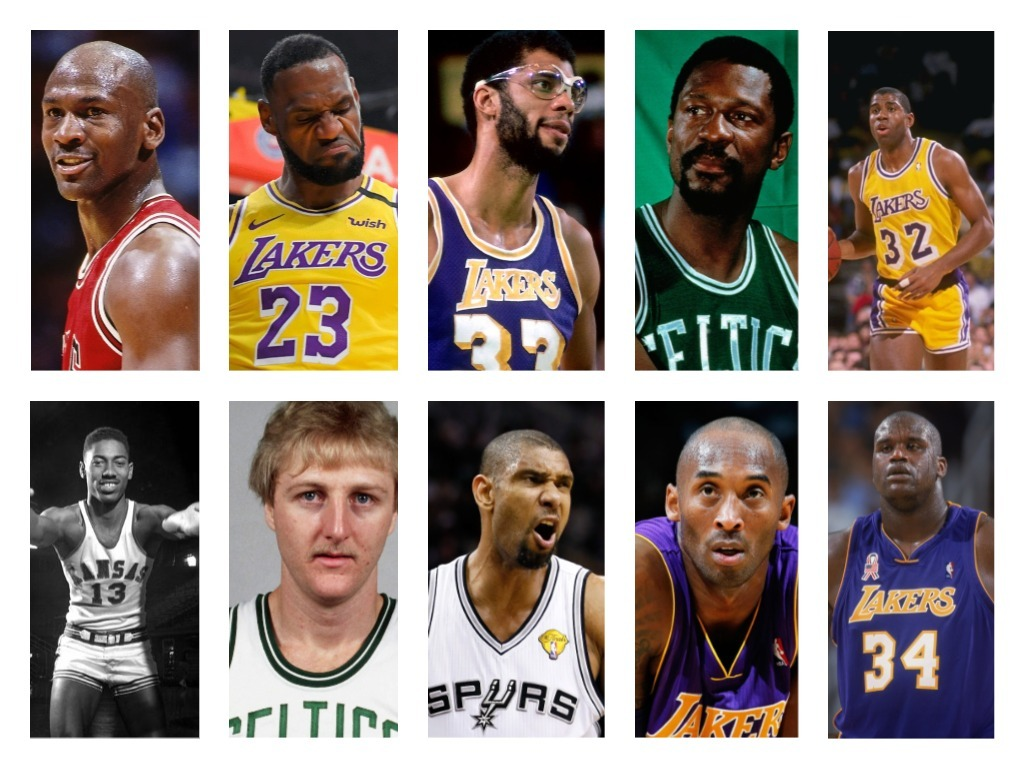 Best nba Players All Time