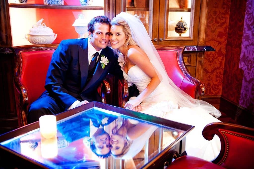 Carrie Prejean and Kyle Boller