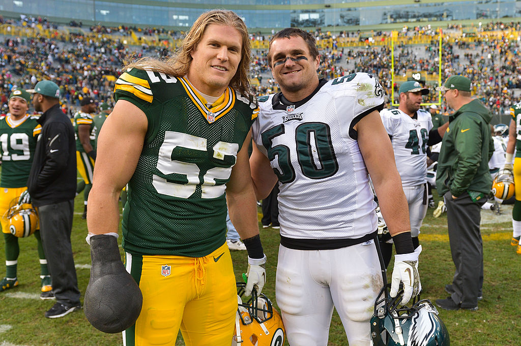 Clay and Bruce Matthews