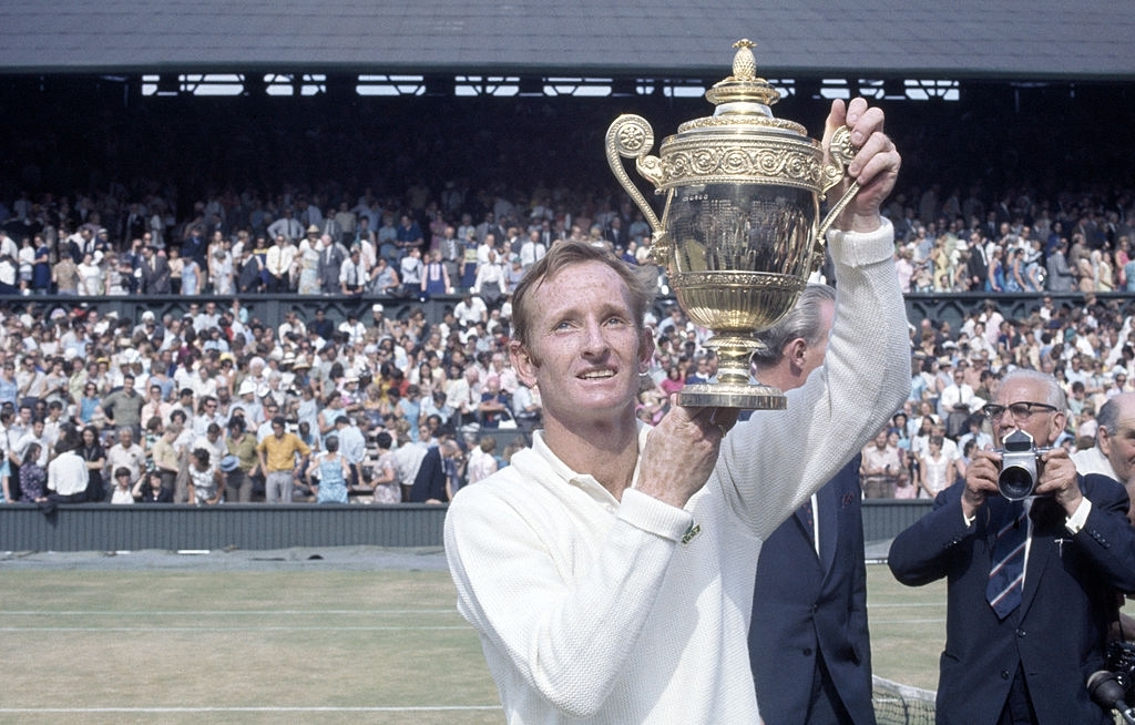 Rod Laver, 1969. Most Dominatnt Seasons in Tennis History