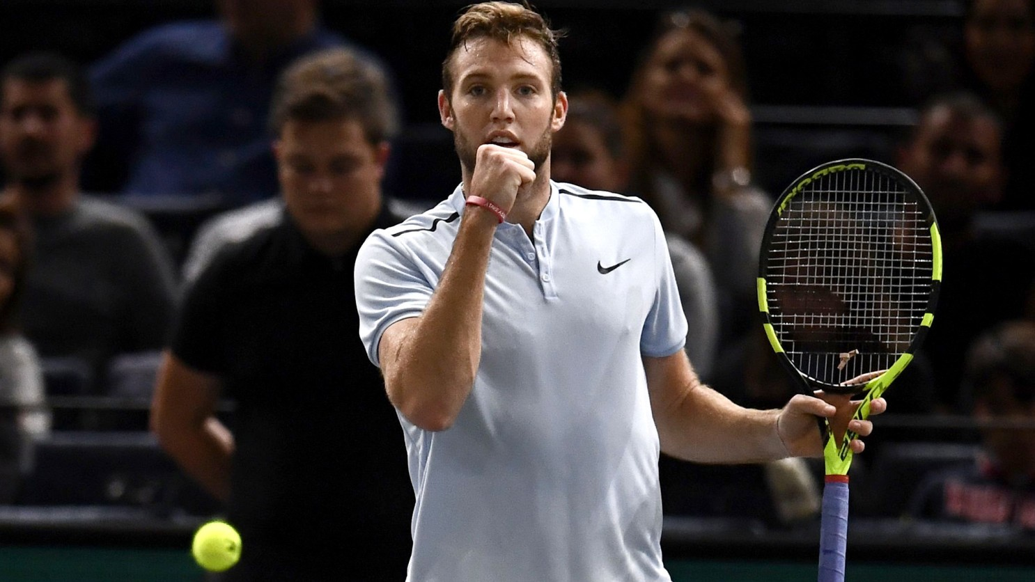 Jack Sock's greatest tennis comeback of all time against Kyle Edmund at the Paris Masters 2017.